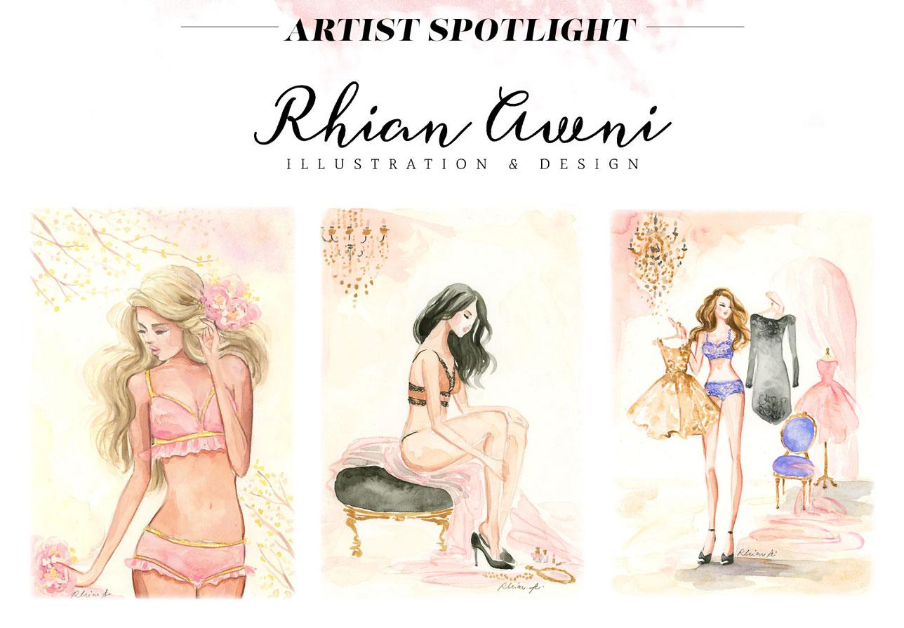 Cosabella Artist Spotlight: Rhian Awni