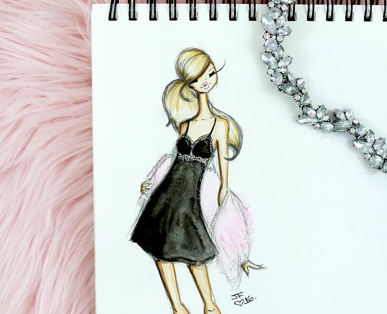 Josefina Fernandez illustrations for Cosabella