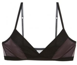 cosabella mixed meshages crossover bralette
