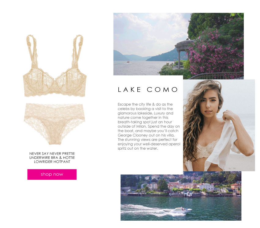 lake como getaway
